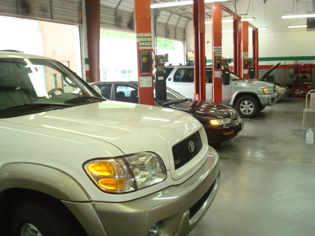 Servicing Vehicles