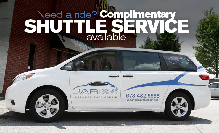 complimentary shuttle