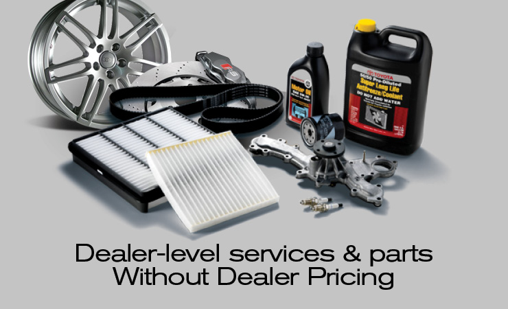 Service and Parts Pricing