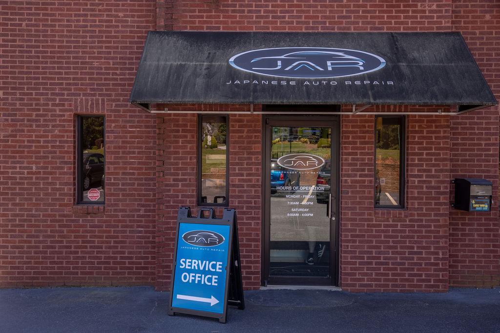 Front Entrance Auto Repair Shop
